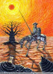 La muerte de don Quijote