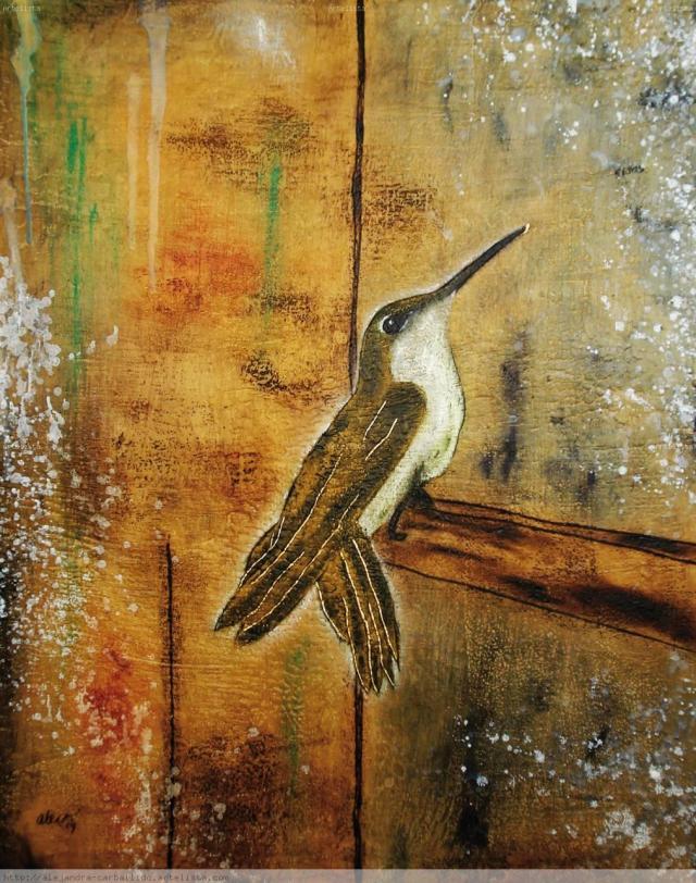 Un colibrí en el taller - Alejandro Carballido