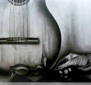 Mano, flor y guitarra - Diego Brochero